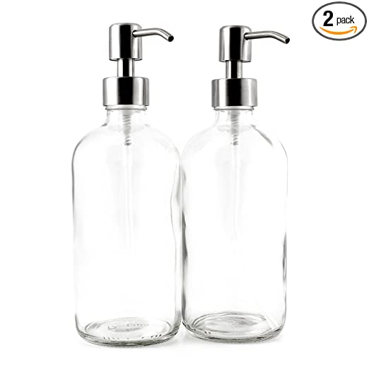 Amazon.com: Boston Ronda de vidrio transparente 16-Ounce ...