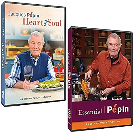 Amazon Com The Jacques Pepin Dvd Collection Complete Heart Soul Series Complete Essential Pepin Series 7 Dvds Movies Tv
