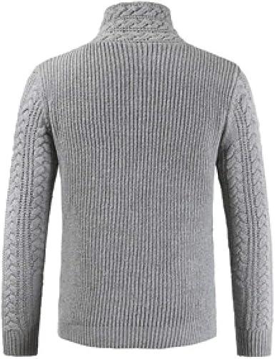 HOSD 2019 Sweater Hombres Casual Cuello Jersey Hombres Otoño Slim Fit Camisa de Manga Larga: Amazon.es: Ropa y accesorios