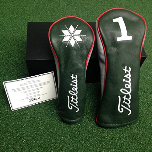 Titleist Premium Holiday Leather Headcovers by Titleist (Image #1)