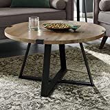 WE Furniture AZF30MWCTRO Coffee Table, Rustic Oak Review