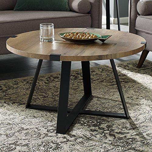 (WE Furniture AZF30MWCTRO Coffee Table Rustic Oak)