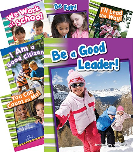 (Teacher Created Materials - Primary Source Readers: Citizenship and Responsibility - 6 Book Set - Grades K-2 - Guided Reading Level A - K)