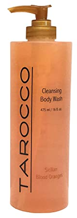 Baronessa Cali Tarocco Sicilian Blood Red Orange Body Wash – Clean, Refreshing, Invigorating – 16 Fluid Ounce
