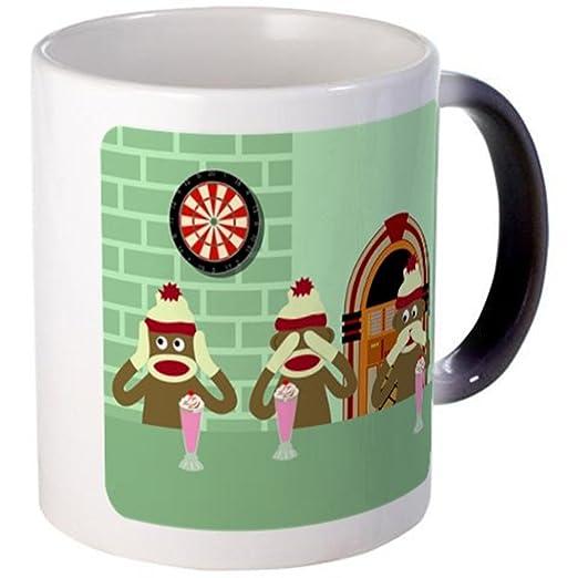 CafePress - no Evil calcetines Monkeys helado café - Taza ...