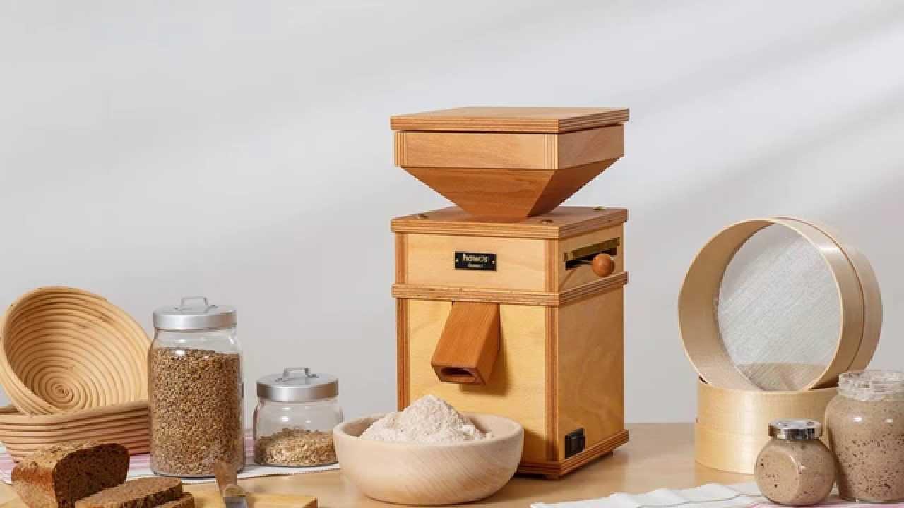 hawos Queen 1 Grain Mill Stone Flour Mill 110 Volt