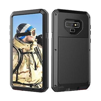 Beeasy Funda Samsung Galaxy Note 9,Antigolpes Rígida Robusta Antigravedad Carcasa Resistente al Impacto Militar Duradera Blindada Fuerte de Seguridad ...