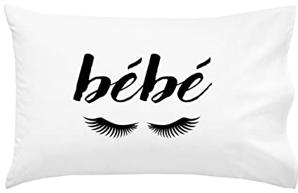 "Oh, Susannah Bébé Eyelashes Pillowcase (One 20x30"" Standard/Queen Size Pillow Case"