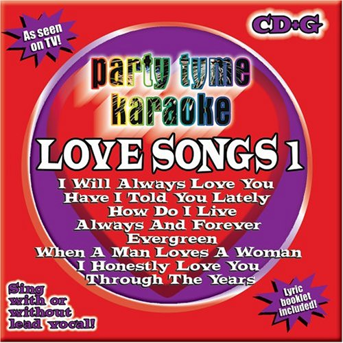 Party Tyme Karaoke - Love Songs 1 (8+8-song CD+G)