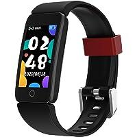 Fitness Tracker Watch for Kids Girls Boys Teens, Activity Tracker, Pedometer, Heart Rate Sleep Monitor, IP68 Waterproof…