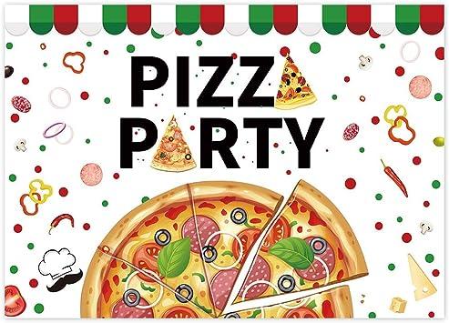 Pizza Party Concept Banner With Pizza Ingredients Lizenzfrei Nutzbare  Vektorgrafiken, Clip Arts, Illustrationen. Image 121910048.