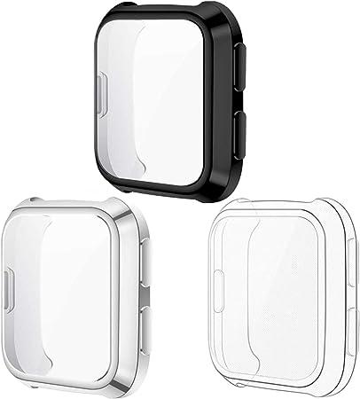 Kimilar Hülle Kompatibel Mit Fitbit Versa Schutzhülle Elektronik