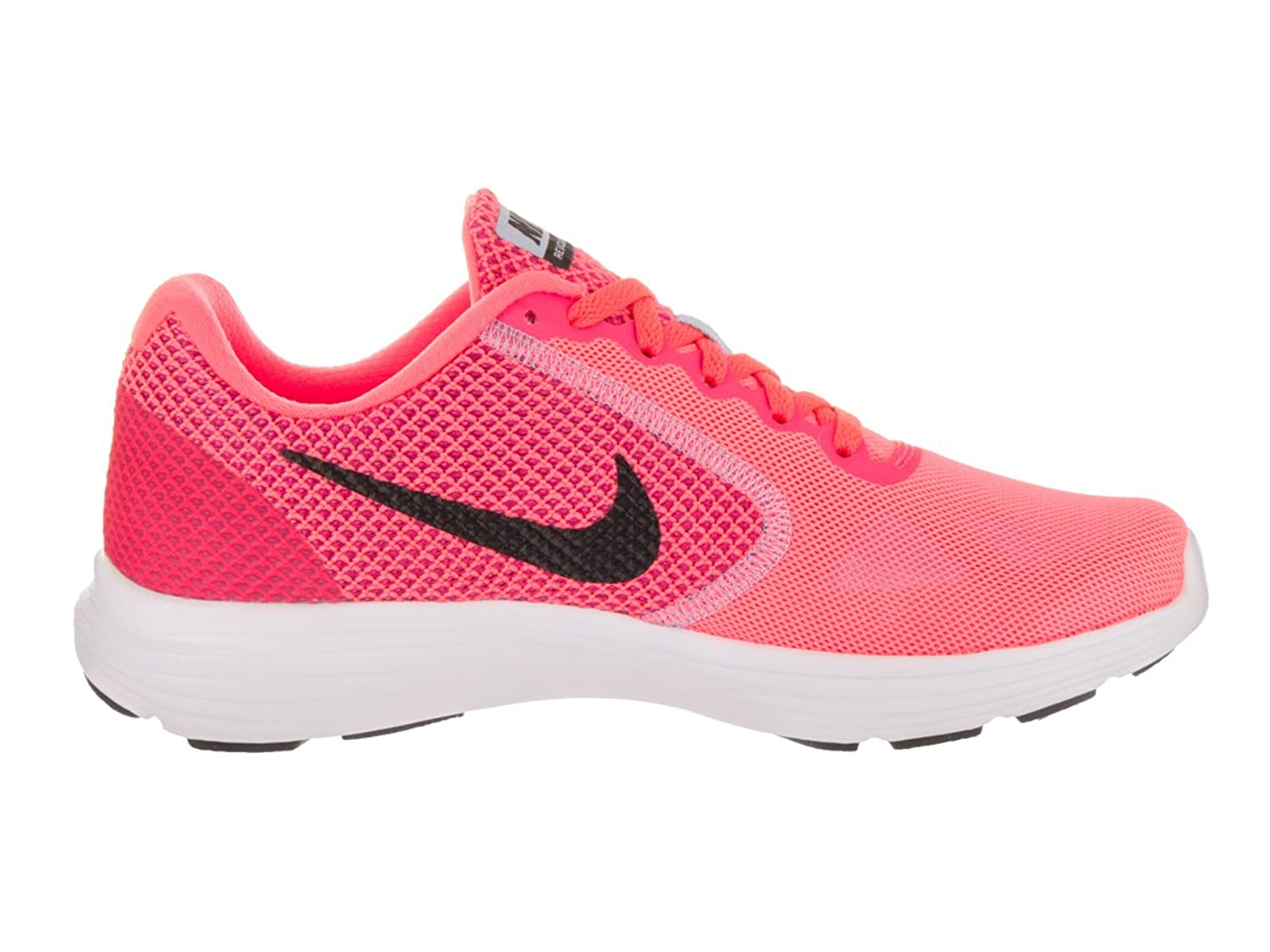 Nike Wmns Revolution 3, Zapatillas de Trail Running para Mujer, Rosa (Hot Punch/Black/Aluminum/White 602), 40 EU