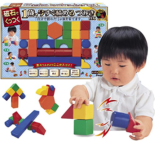 The first time of Pythagoras 1-year-old, now packed building blocks DX by people