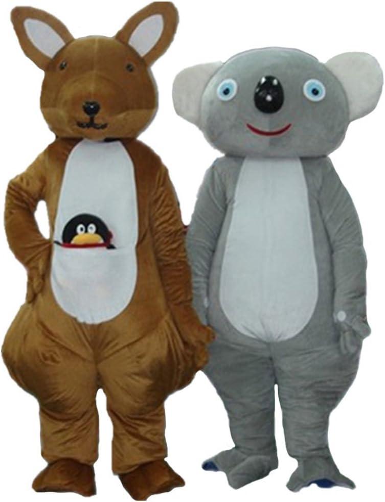 DREAM--STORE Canguro y Koala Disfraz de Mascota Cartoon Halloween ...