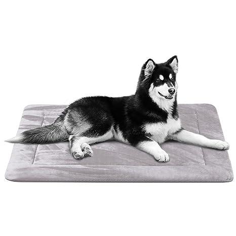 Colchoneta Grande Suave para Perros - 100% Lavable A Máquina, Colchón De Lujo Antideslizante
