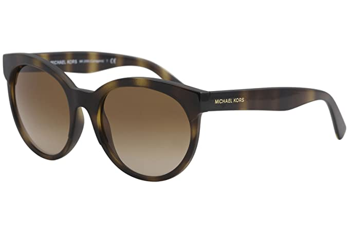 598d9b36011f Image Unavailable. Image not available for. Colour: MICHAEL KORS Women's  Cartagena 333613 54 Sunglasses, Dark Tortoise/Browngradient