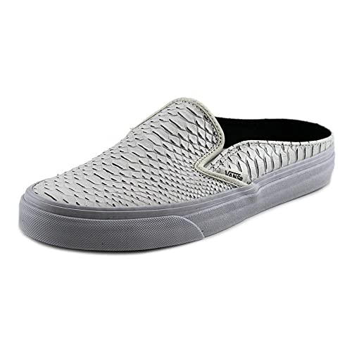 dc6443911a Vans Classic Slip-On Mule Embossed Python White True Ankle-High Snakeskin  Fashion