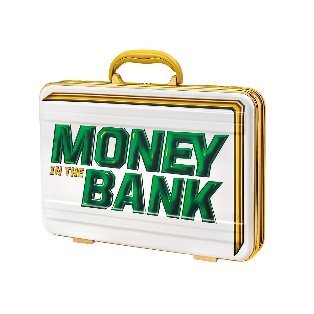 WWE Womens Money in the Bank White Commemorative Briefcase by WWE Authentic