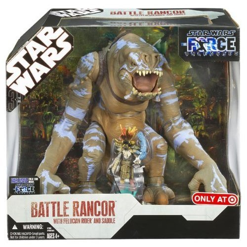 Star Wars Battle Rancor with Felucian Rider and Saddle