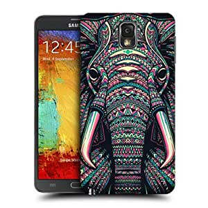 Head Case Designs Elephant Aztec Animal Faces Hard Back Case Cover For Samsung Galaxy Note 3 N9000 N9002 N9005 by supermalls