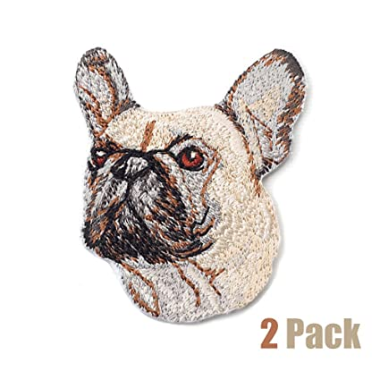 1PC~ PLAYING PUPPY  DOG~ IRON ON EMBROIDERED APPLIQUES