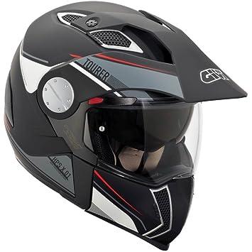 GIVI HX01DN90061 Hps X01D Integral Casco Tourer, Color Negro Mate, Talla 61/XL