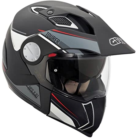 Amazon.es: GIVI HX01DN90060 Hps X01D Integral Casco Tourer, Color Negro Mate, Talla 60/L