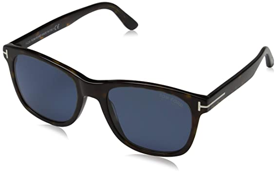 c40a30d7063f Image Unavailable. Image not available for. Colour  Tom Ford Men s Eric-02  FT0595-52D-55 Brown Rectangle Sunglasses