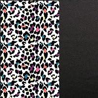 Monterey Club Ladies Dry Swing Fun Leopard Colorblock Sleeveless Polo Shirt #2351