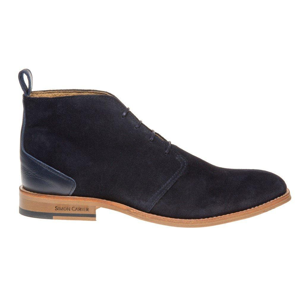Simon Carter Byrd Homme Boots Bleu  Amazon.fr  Chaussures et Sacs 4f532cdc0a1b