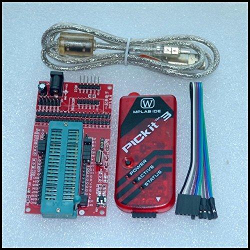 pickit 3 Programming/Emulator + PIC microcontroller/Minimum System Board/Development Board/Universal Programmer seat