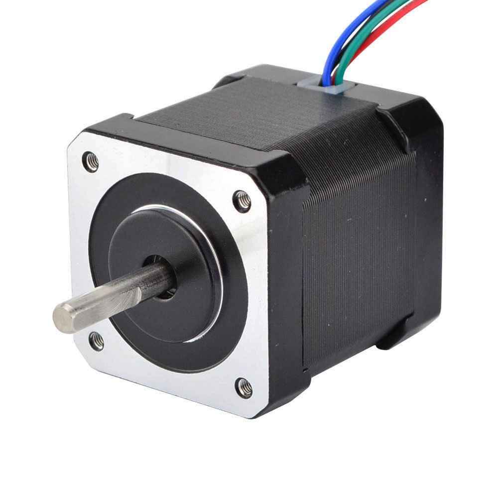 Stepperonline Nema 17 Stepper Motor Bipolar 2a 59ncm84ozin 48mm Phase Wiring Diagrams Besides 4 Wire Body Lead W 1m Cable And Connector Compatible With 3d Printer Cnc
