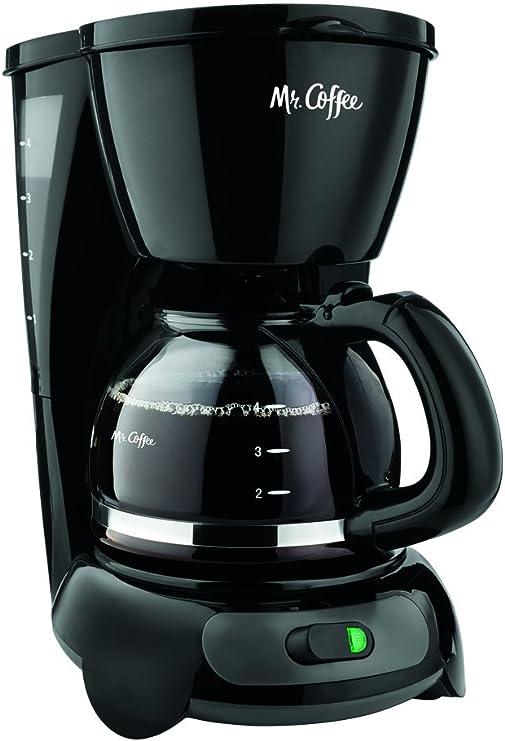 Amazon.com: Mr. Coffee TFGTF - Cafetera eléctrica (4 tazas ...