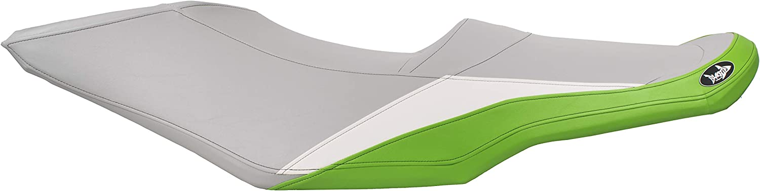 Gray//White//Lime Green GTS 130 Wake 155 BlackTip Jetsports Premium Seat Cover for Sea-Doo GTI 130