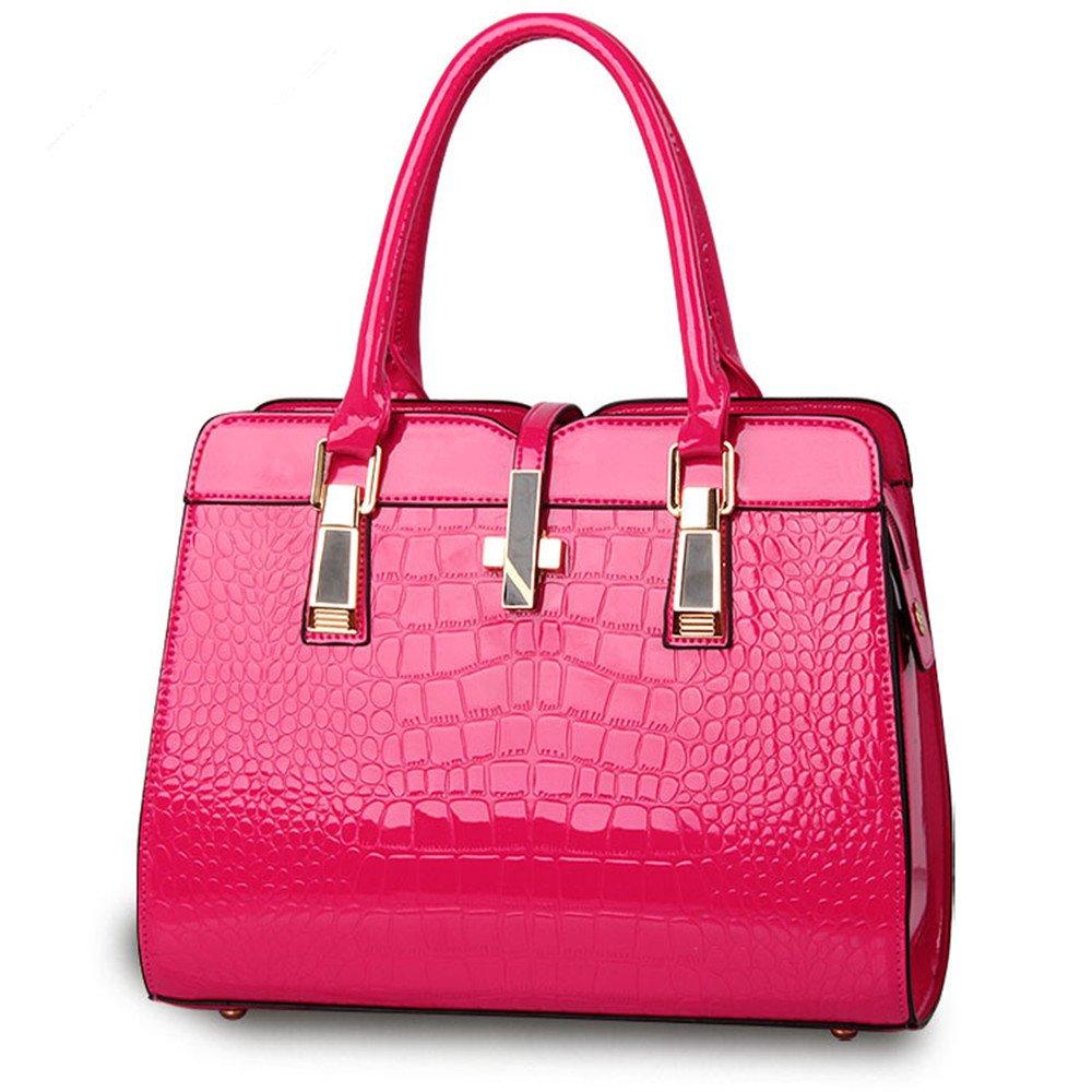 795a4cfe18c1 XIN BARLEY Fashion Designer Handbags Women PU Leather Alligator ...