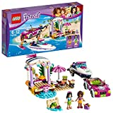 Lego Friends Andrea and Emma's Speedboat Transporter Building Blocks for Girls 6 to 12 Years (309 pcs)
