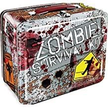 Walking Dead Zombies Survival Kit Vintage Style Metal Lunch Box