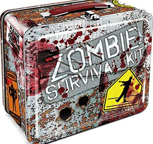 Walking Dead Zombies Survival Kit Vintage Style Metal Lunch Box
