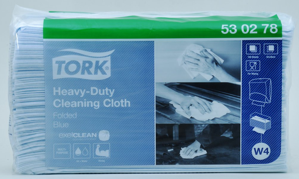 Extra strong industrial towels, pack of 500, 530278,  by SCA Tork  by SCA Tork