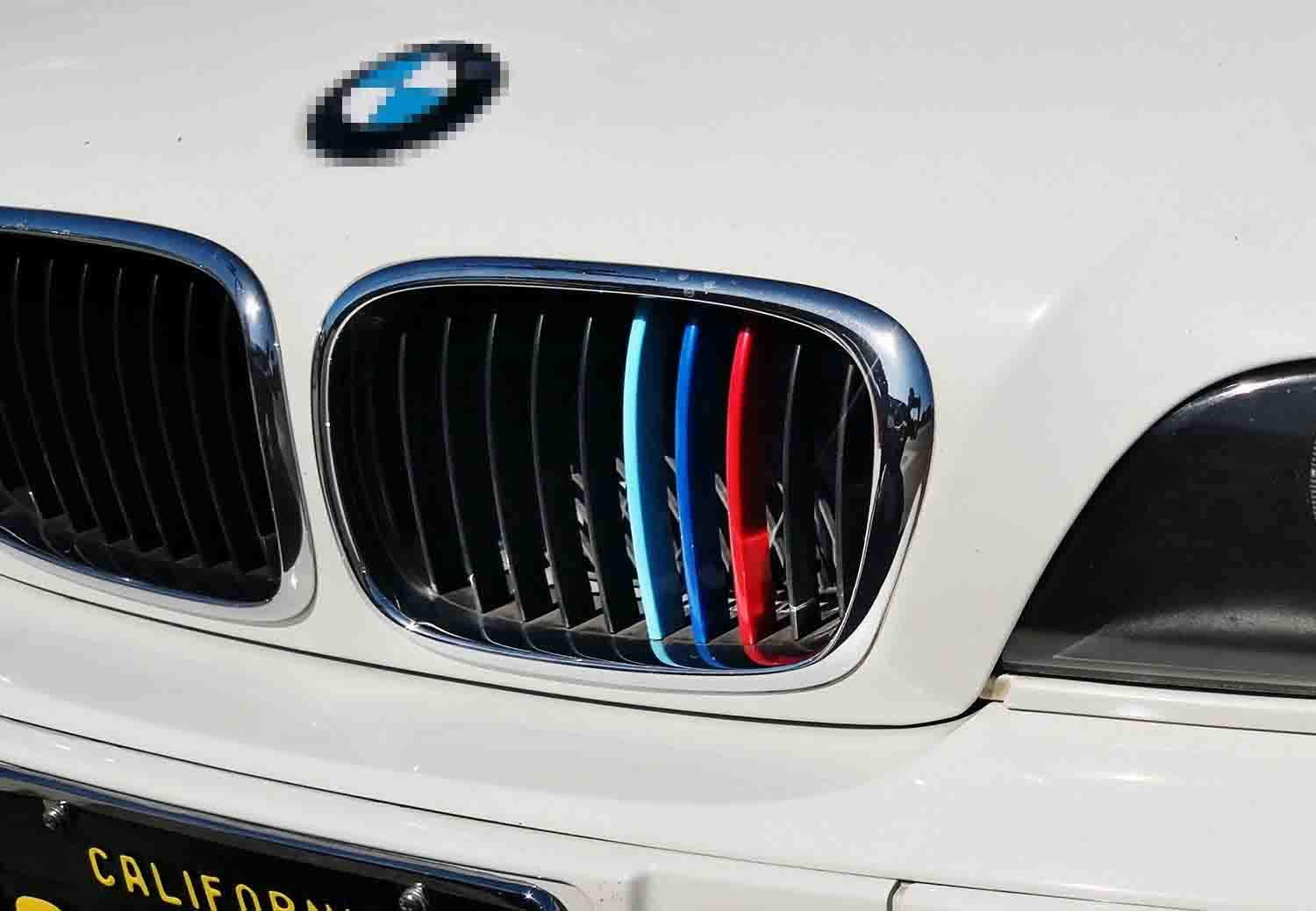 iJDMTOY Exact Fit//////M-Colored Grille Insert Trims Compatible With 2018-up G32 6 Series Gran Turismo 6GT w//9-Beam Grille ONLY