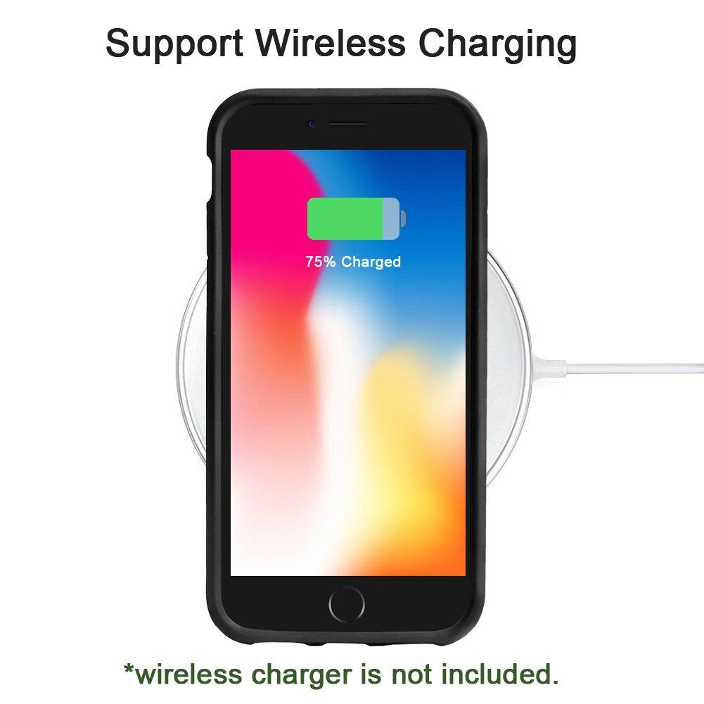 competitive price 03891 5d1d4 MBLAI iPhone 8 Plus Case,iPhone 7 Plus Case, Clear Transparent ...