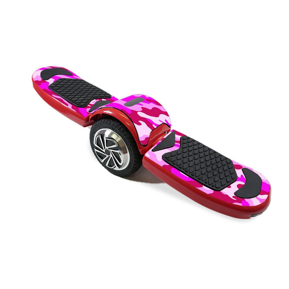 MightySkins Skin For LTXtreme Free-Style Hoverboard - Pink Camo | Protective, Durable, and Unique Vinyl Decal wrap cover | Easy To Apply, Remove, and Change Styles | Made in the USA