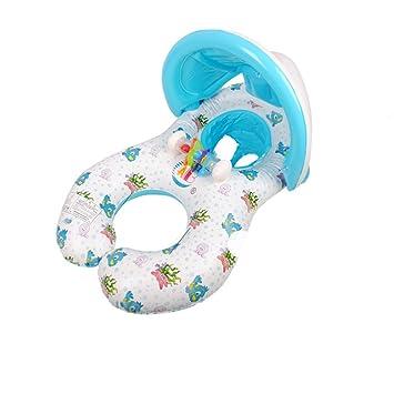 skisneostype madre y bebé Nager flotador seguridad inflable bebé piscina agua juguete asiento barco Natación con