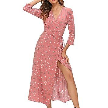 Y56 Vestidos de Fiesta Mujer Largos Elegantes Vestidos ...