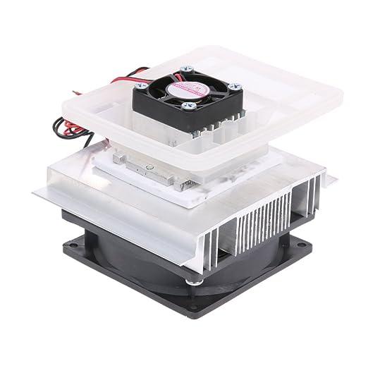 amazingdeal Mini DIY sistema de refrigeración electrónica de semiconductores electrónicos aire acondicionado