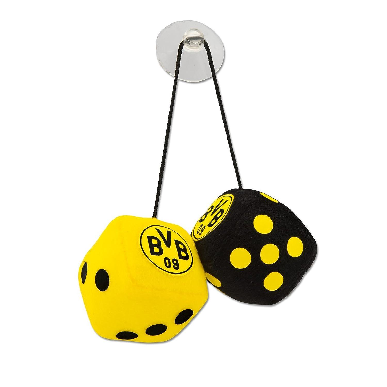 Borussia Dortmund Plü schwü rfel / Autowü rfel / Wü rfel / Glü ckswü rfel BVB 09 - plus gratis Aufkleber forever Dortmund Borussia Dortmund - BVB 09