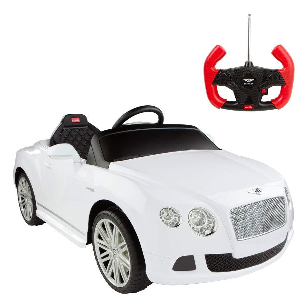 RASTAR Coche de batería Bentley Continental GT de 6V-2.4G, Color Blanco (ColorBaby 85251): Amazon.es: Juguetes y juegos