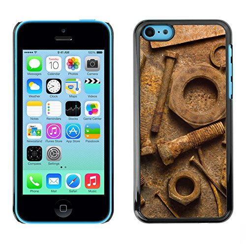 Premio Sottile Slim Cassa Custodia Case Cover Shell // V00002021 Rouille // Apple iPhone 5C