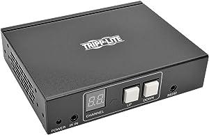 Tripp Lite DisplayPort Over IP Receiver / Extender Cat5 / Cat6 w/ RS-232 Serial & IR Control 1080p 100M TAA (B160-100-DPSI)